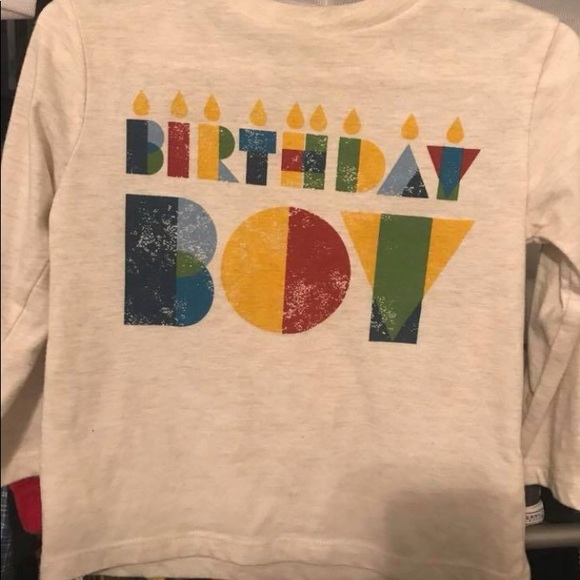 Longsleeve Birthday Boy Shirt Size 18months